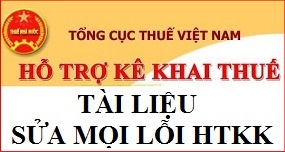Tài liệu sửa mọi lỗi phát sinh với phần mềm HTKK