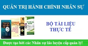 Bộ tài liệu quản lý hành chính nhân sự đầy đủ
