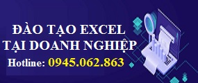 Đào tạo Excel tại doanh nghiệp